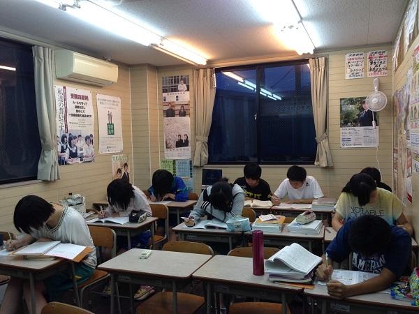 授業後の風景