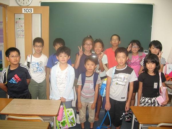 小学生集合