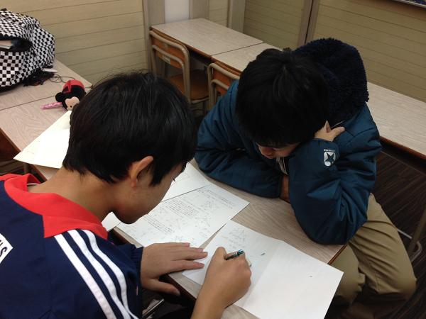 授業後補習②