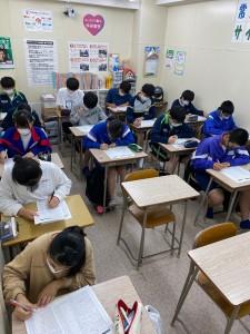 中3Sクラス演習