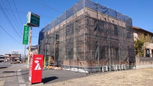 20210223校舎外壁塗装